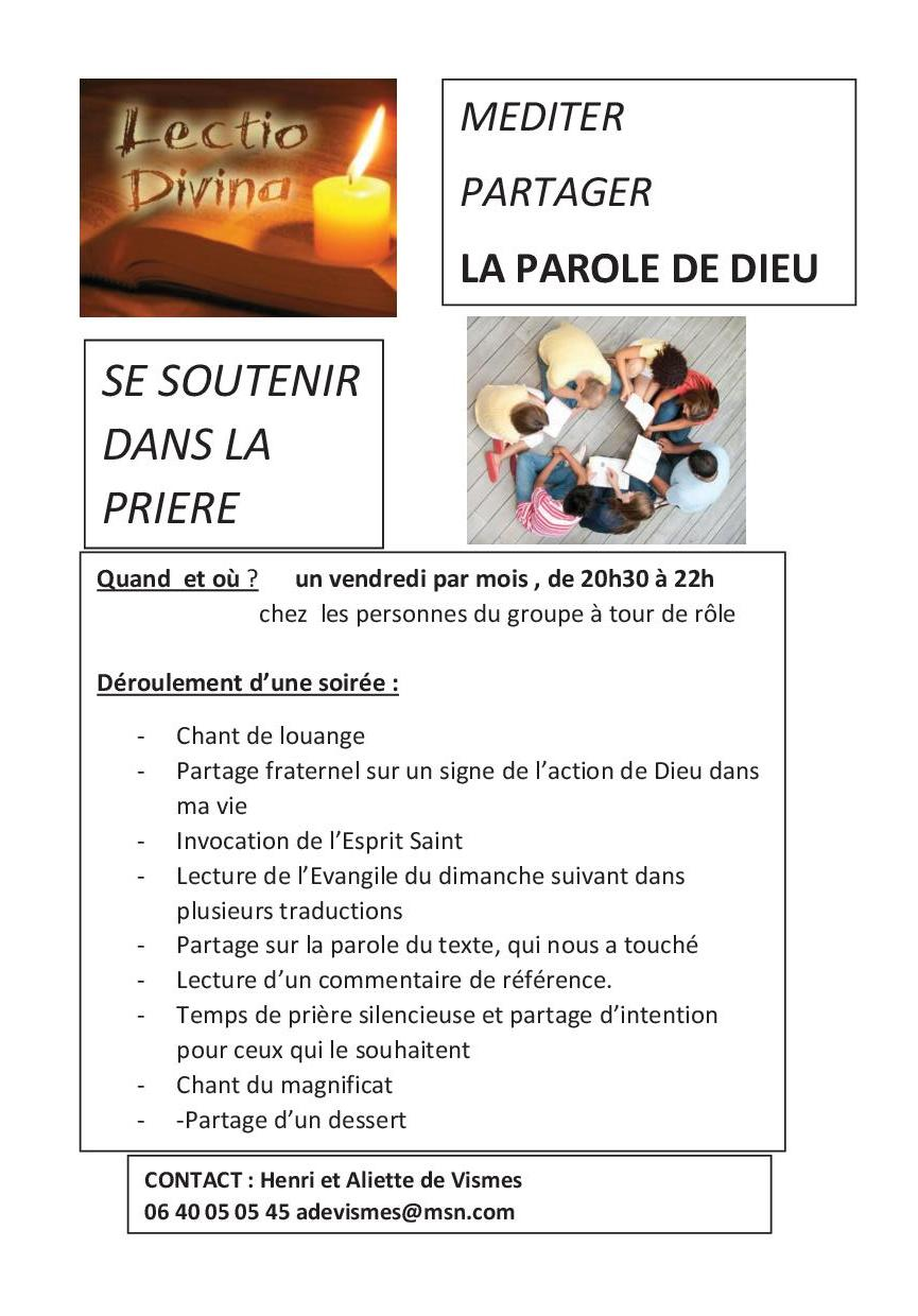 tract lectio divina